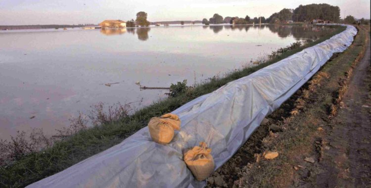 rialzo arginale in emergenza alluvioni