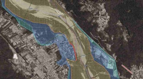 fasce fluviali di espansione del fiume